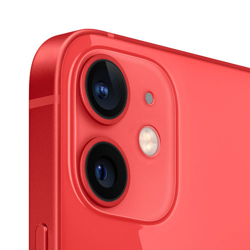Apple iPhone 12 Mini Frontalansicht (PRODUCT)RED big