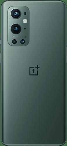 OnePlus 9 Pro Frontalansicht pine green big