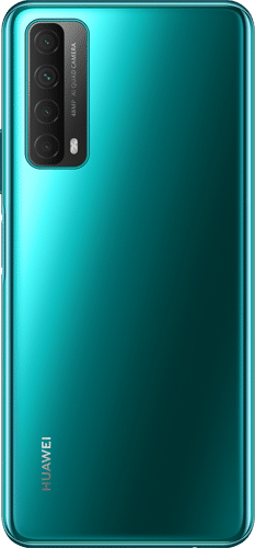 HUAWEI P Smart 2021 Frontalansicht crush green big