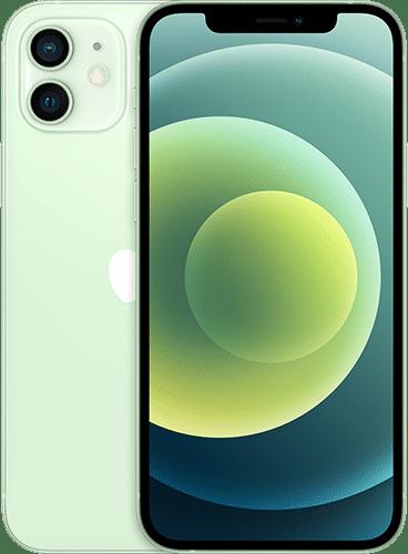 Apple iPhone 12 Frontalansicht grün big