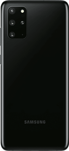 Samsung Galaxy S20+ Frontalansicht cosmic black big