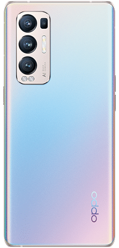 OPPO Find X3 Neo 5G Frontalansicht galactic silver big