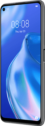 HUAWEI P40 lite 5G Frontalansicht midnight black big