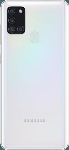 Samsung Galaxy A21s Frontalansicht white big