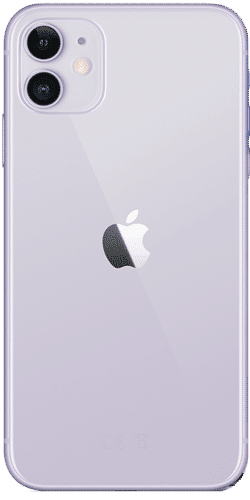 Apple iPhone 11 Frontalansicht violett big