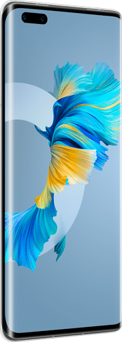 HUAWEI Mate40 Pro Frontalansicht silver big