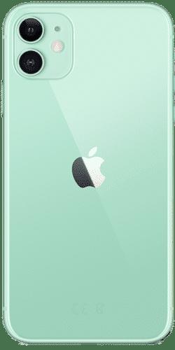 Apple iPhone 11 Frontalansicht grün big