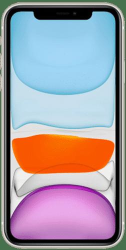 Apple iPhone 11 Frontalansicht weiß big