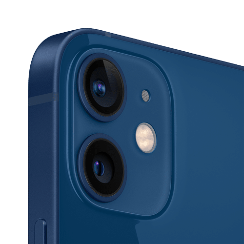 Apple iPhone 12 Mini Frontalansicht blau big