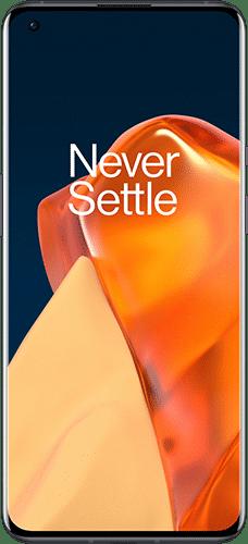 OnePlus 9 Pro Frontalansicht stellar black big