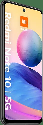 Xiaomi Redmi Note 10 5G Frontalansicht graphite gray big