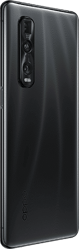 OPPO Find X2 Pro Frontalansicht black big