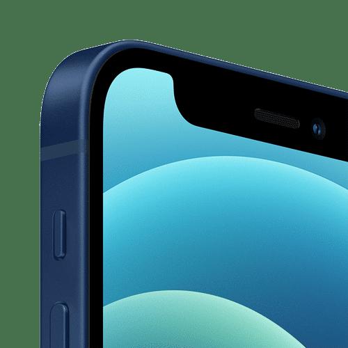 Apple iPhone 12 Mini Frontalansicht blau big