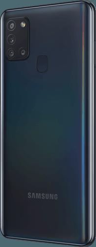 Samsung Galaxy A21s Frontalansicht black big