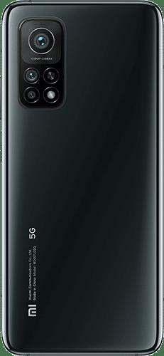 Xiaomi Mi 10T Pro Frontalansicht cosmic black big