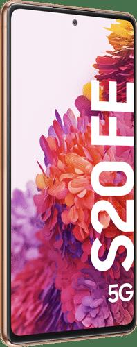 Samsung Galaxy S20 FE 5G Frontalansicht cloud orange big