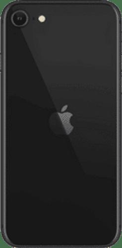 Apple iPhone SE Frontalansicht schwarz big