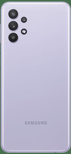 Samsung Galaxy A32 5G Frontalansicht awesome violet big