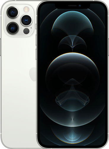 Apple iPhone 12 Pro Frontalansicht silber big