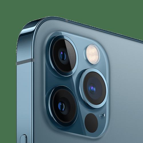 Apple iPhone 12 Pro Frontalansicht pazifikblau big