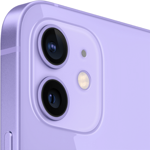 Apple iPhone 12 Frontalansicht violett big