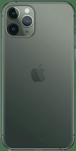 Apple iPhone 11 Pro Frontalansicht nachtgrün big