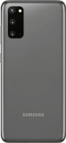 Samsung Galaxy S20 Frontalansicht cosmic gray big