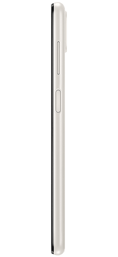 Samsung Galaxy A12 Frontalansicht white big