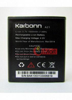 Mobile Battery For Karbonn A21