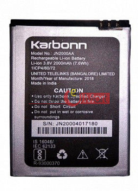 Mobile Battery For Karbonn Aura 6 Turbo