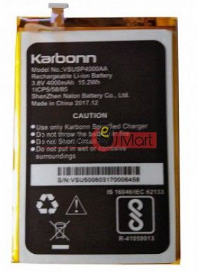Mobile Battery For Karbonn Aura Power Plus