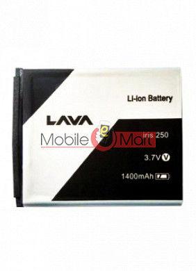 Mobile Battery For Lava Iris 250