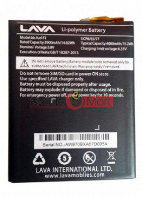 Mobile Battery For Lava Iris Fuel F1