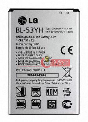 Mobile Battery For LG G3 D850