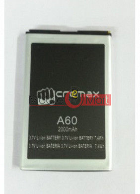 Mobile Battery For Micromax A60