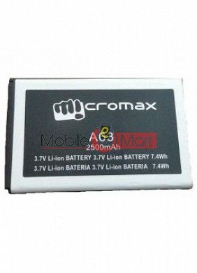 Mobile Battery For Micromax Canvas Fun A63