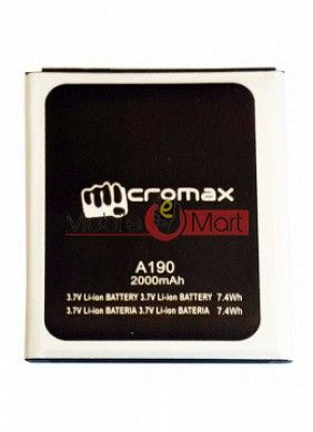 Mobile Battery For Micromax Canvas HD Plus A190