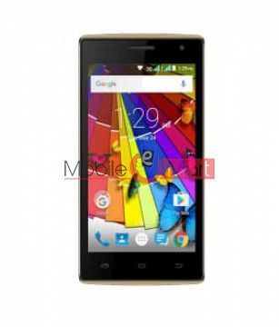 Lcd Display Screen For Spice Xlife M44Q