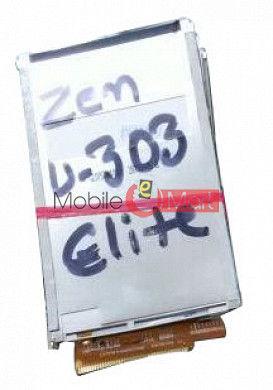 Lcd Display Screen For Zen Ultrafone U303 Elite