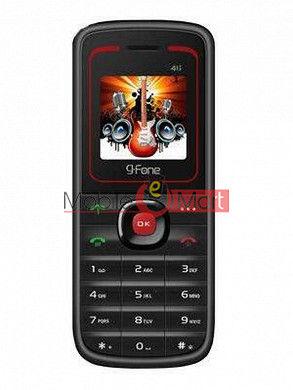 Back Panel For G(Fone 411 Dual SIM)