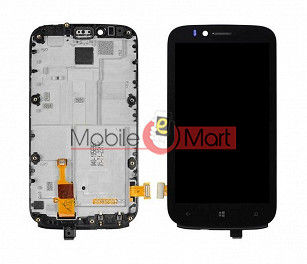Lcd Display With Touch Screen Digitizer Panel For Nokia Lumia 822