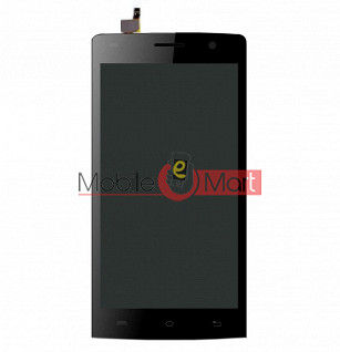 Lcd Display With Touch Screen Digitizer Panel For Lava Iris Fuel 25