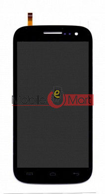 Lcd Display With Touch Screen Digitizer Panel For Micromax A116i Canvas HD