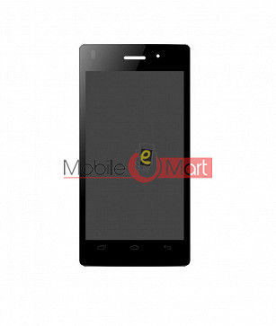 Lcd Display With Touch Screen Digitizer Panel For Intex Aqua Y2 Ultra