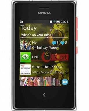Lcd Display With Touch Screen Digitizer Panel For Nokia Asha 503