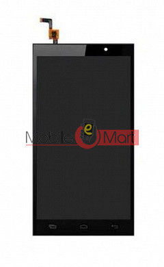 Lcd Display With Touch Screen Digitizer Panel For Micromax Canvas Fire 2 A104