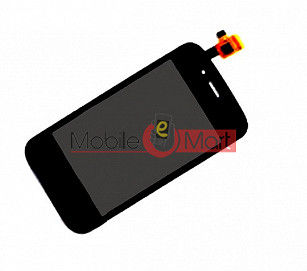 Lcd Display With Touch Screen Digitizer Panel For Micromax D200 Dual Sim