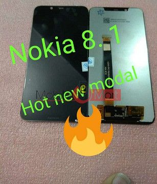 Lcd Display With Touch Screen Digitizer Panel For Nokia 8.1