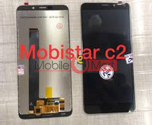 Lcd Display With Touch Screen Digitizer Panel For mobistar c2