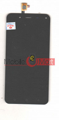 Lcd Display With Touch Screen Digitizer Panel For Karbonn Titanium Jumbo 2 (Black)